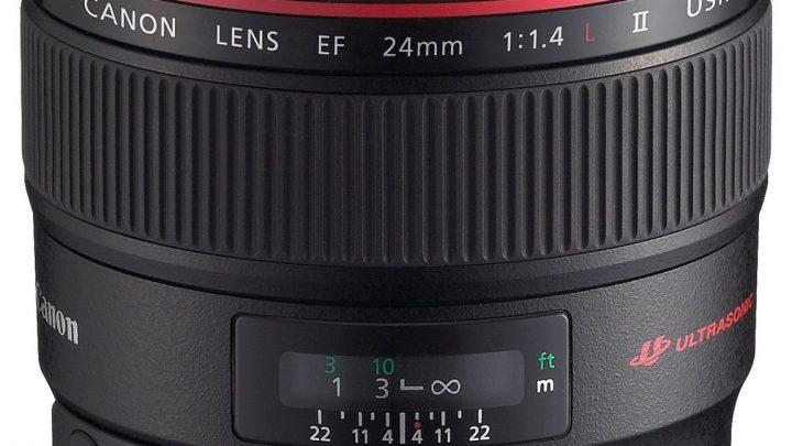 Canon EF 24mm f/1.4 L II USM – Test / Avis