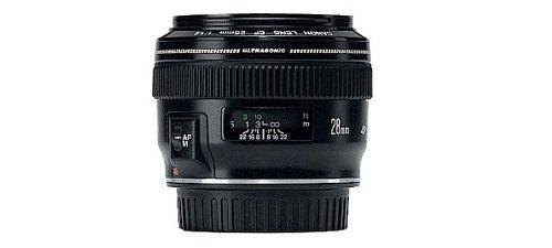 Canon EF 28mm f/1.8 USM – Test / Avis