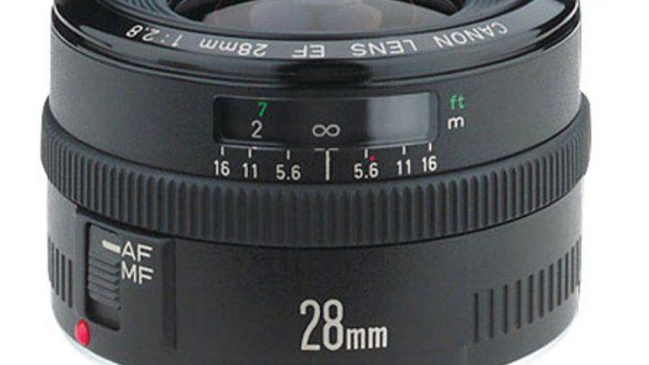 Canon EF 28mm f/2.8 – Test / Avis