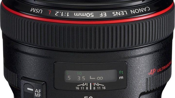 Canon EF 50 mm f/1.2 L USM Test / Avis