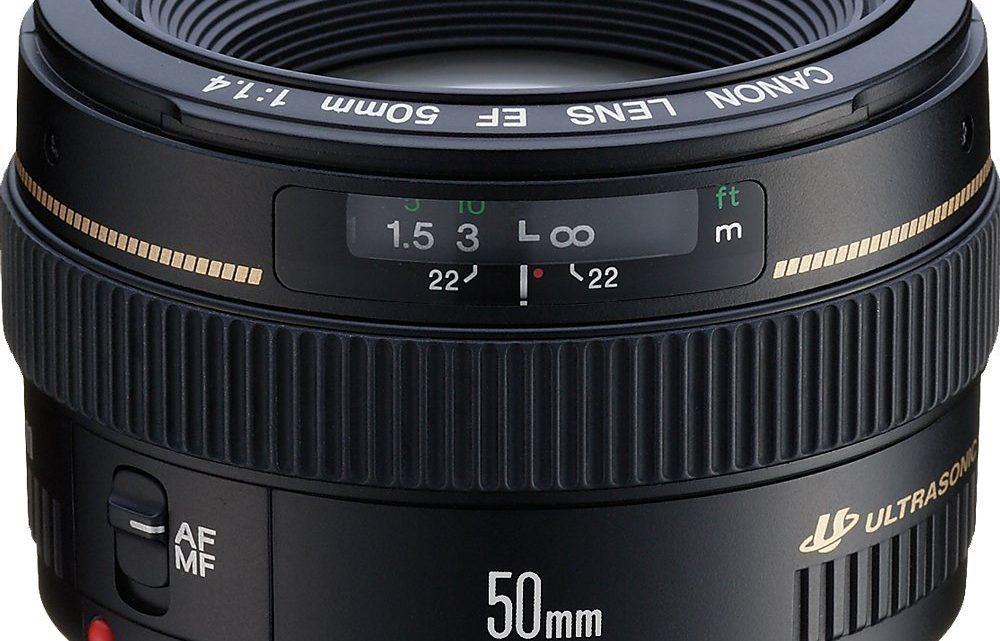 Canon EF 50mm f/1.4 USM – Test / Avis