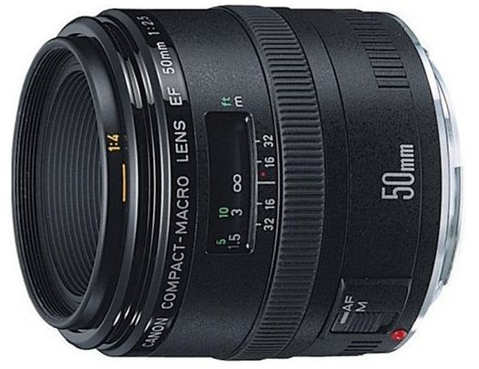Canon EF 50mm f/2.5 Compact Macro – Test / Avis