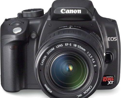 Canon EOS 350D – Test / Avis