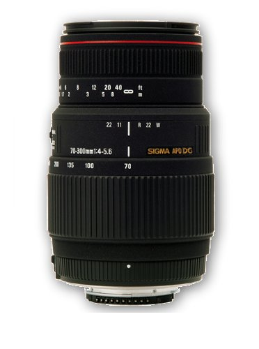 Sigma 70-300mm f/4-5.6 APO Macro Super II – Test / Avis
